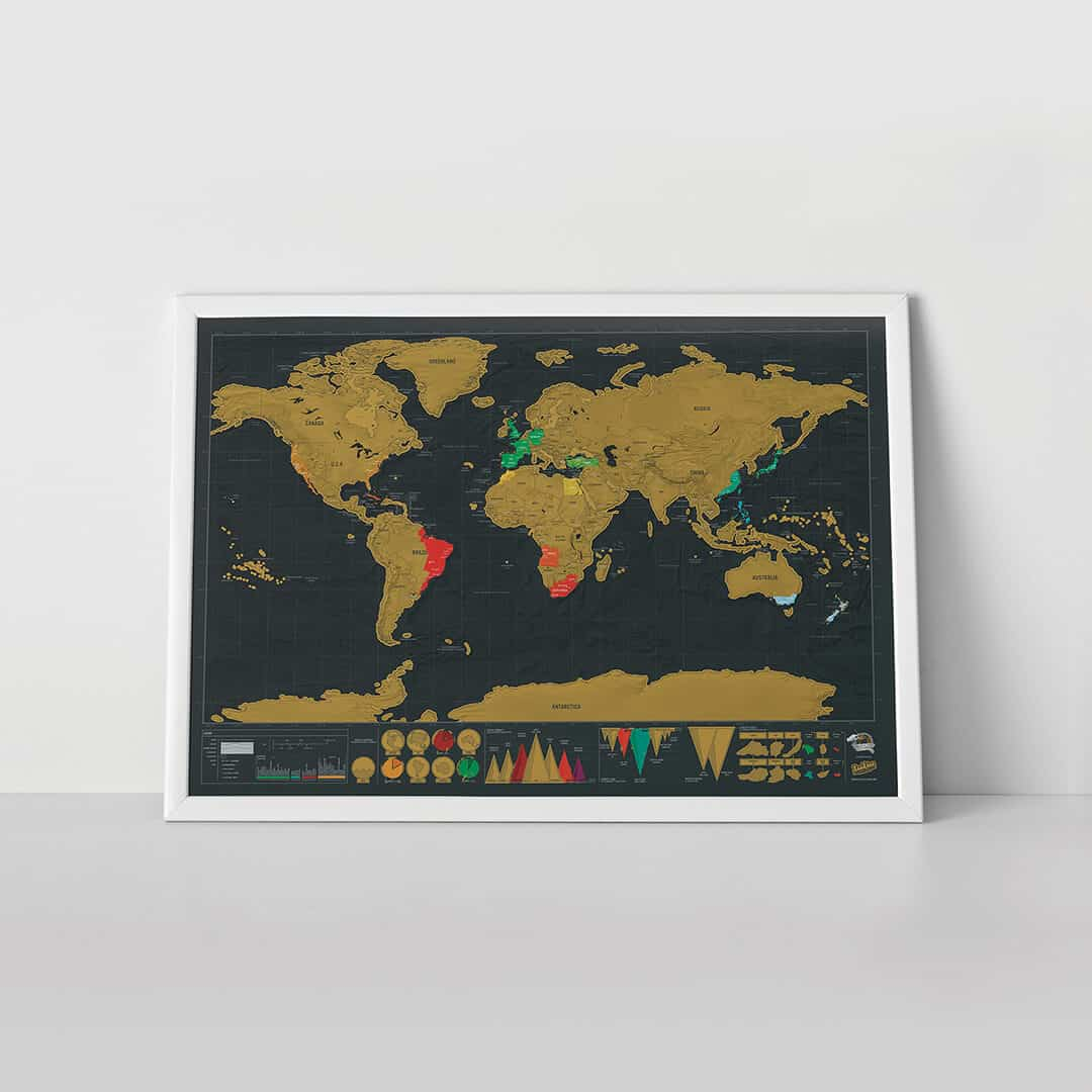 Travel Gifts For Him, Unusual Gifts, Unusual Gifts For Men, Wedding  Thank You Gifts, Gifts For Him, Travel Gifts, Gifts For Her, Scratch Map�  Maps
