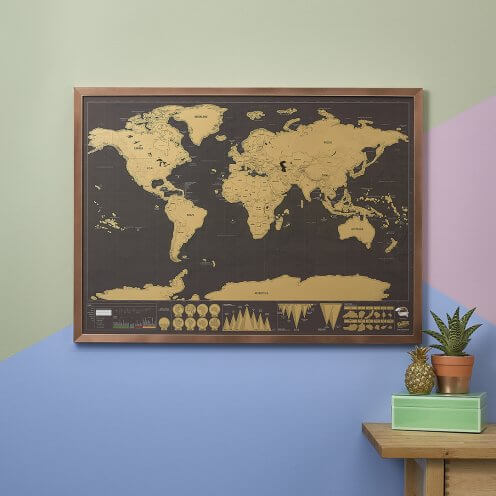 Scratch Map Deluxe by Luckies
