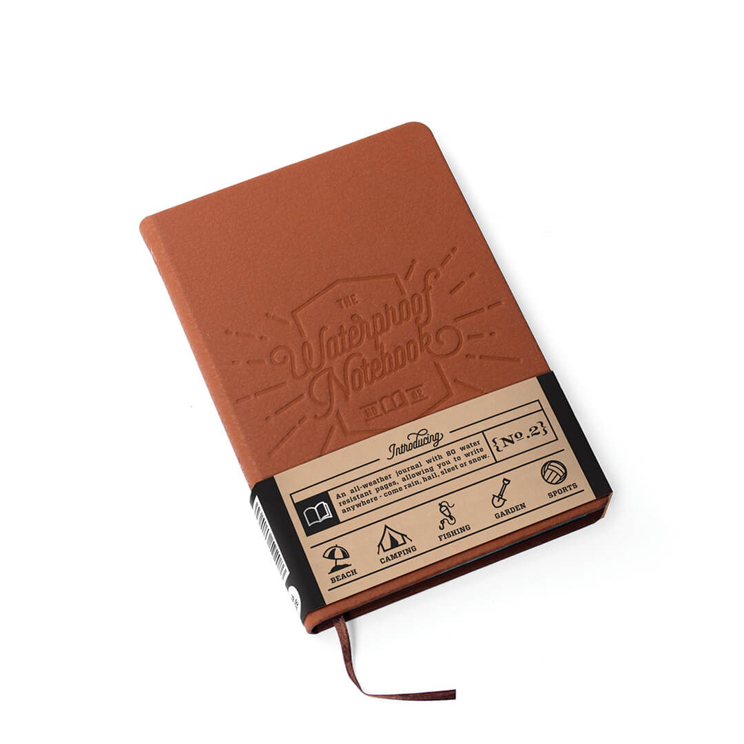 Homewarming Gift Waterproof Notebook With Graphite Pencil
