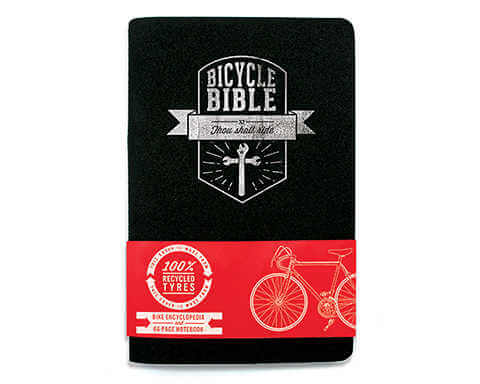 bicycle bible notebook
