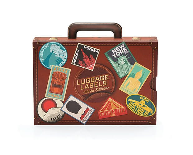 Luggage Labels stickers
