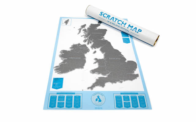 scratch off map uk