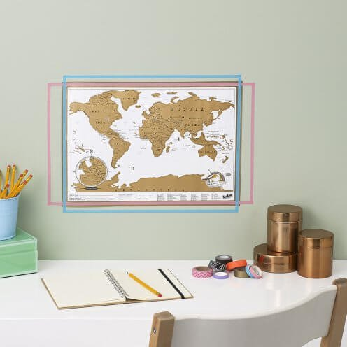 Scratch Map Travel by Luckies