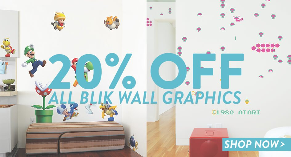 945 x 510 blick wall graphics luckies
