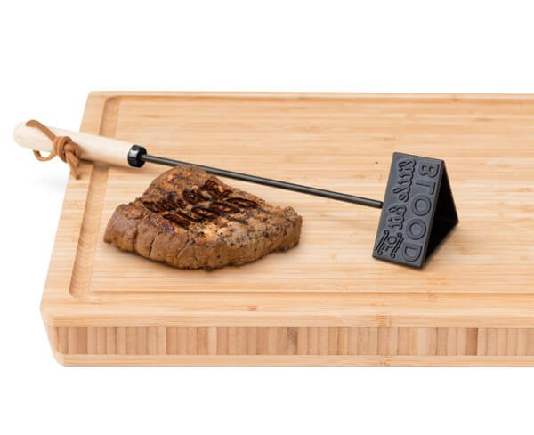 Luckies BBQ Steak Stamp Branding Iron