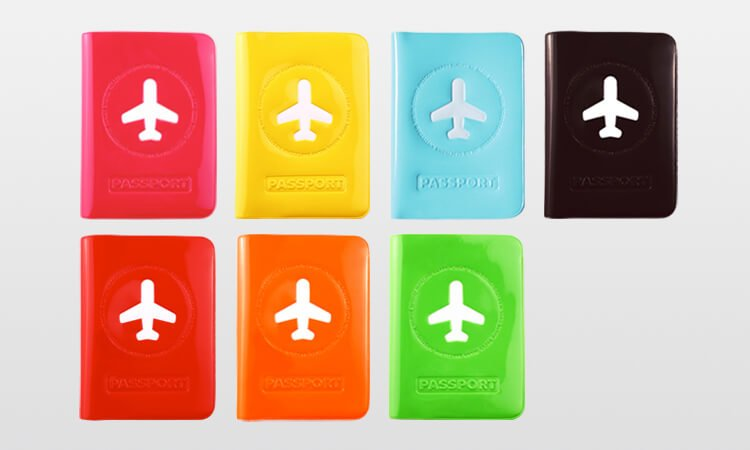 Happy Flight Passport Holder Multi