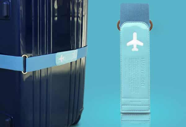 Luggage Belt Blue 01