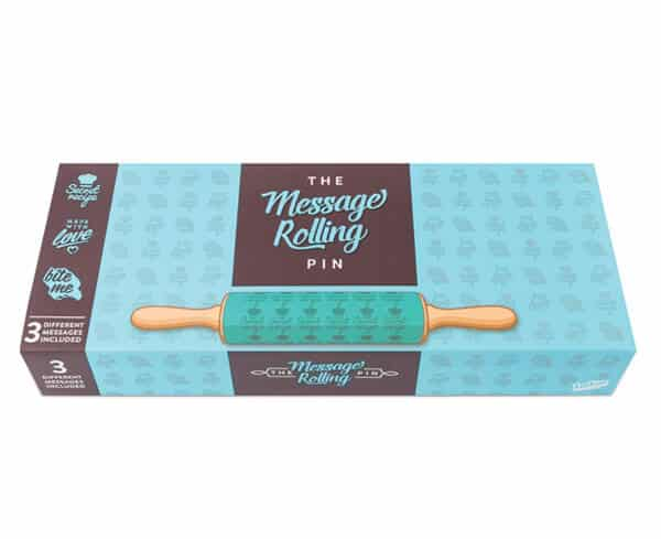 Message Rolling Pin by Luckies