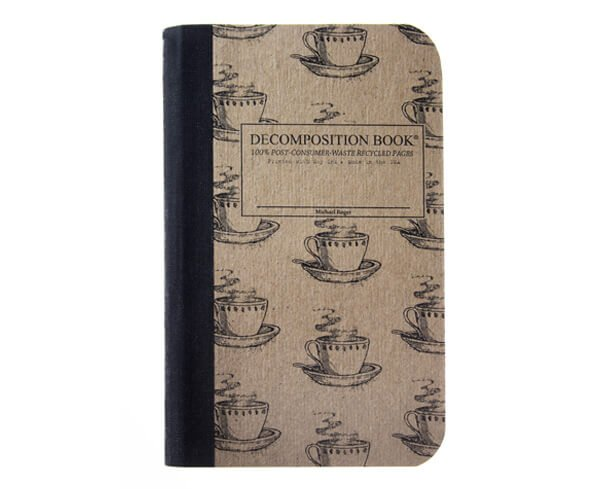 Mini Decomposition Notebook Coffee Cup by Michael Roger