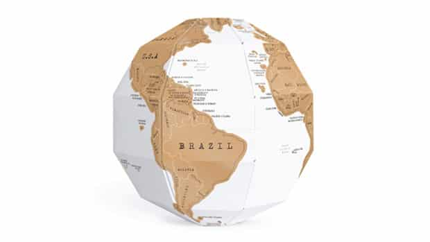 Scratch Globe by Luckies
