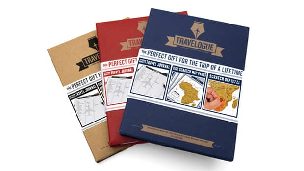 Travelogue Travel Journal by Luckies