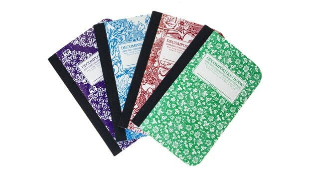 Decomposition Notebooks by Michael Rogers