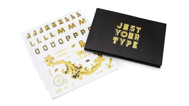 Just Your Type Sticker Set by Luckies