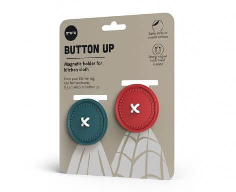 Button Up Cloth Holders by Ototo