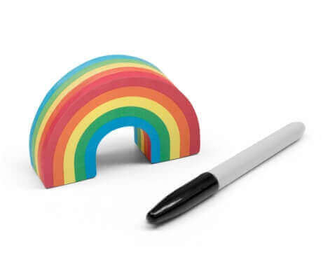 Rainbow Sticky Notes by Luckies