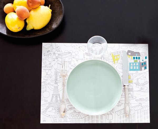 Giant Paper Placemats by OMY - City Map