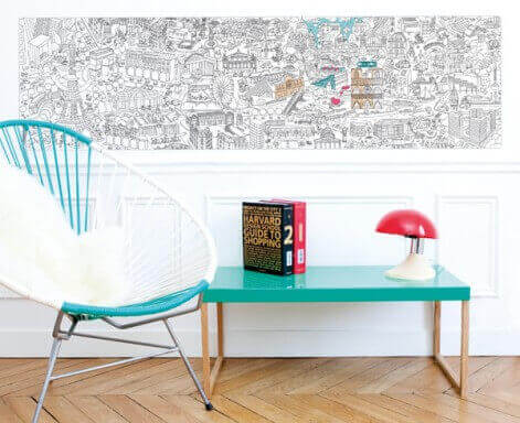 Giant Colouring Roll Medium by OMY - Paris