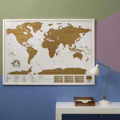 Scratch map maps personalised world map posters luckies scratch map xl by luckies gumiabroncs Gallery