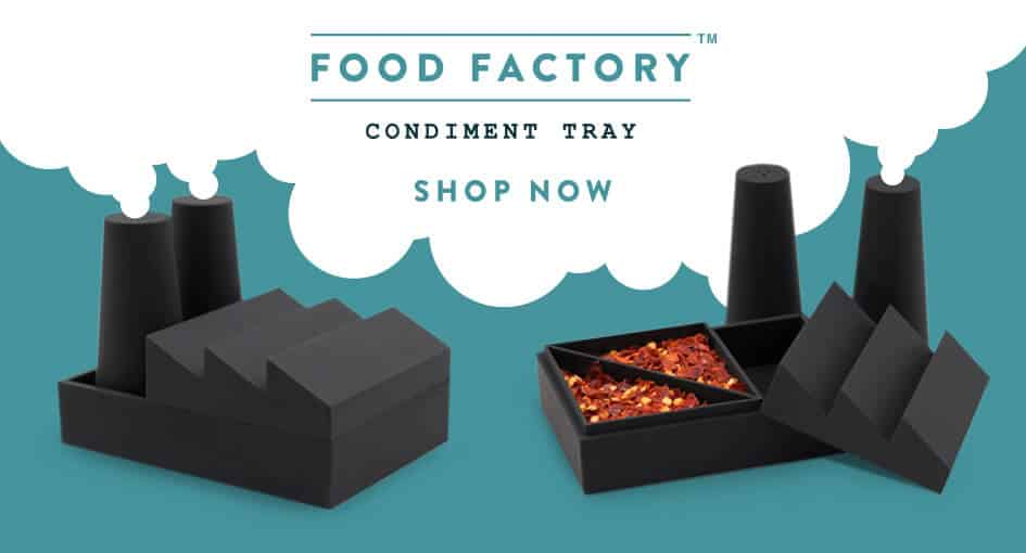 Luckies | Food Factory Condiment Tray