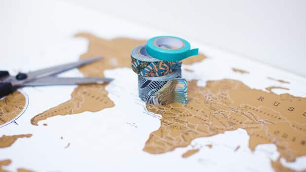 Scratch-Map-Travel-Framed-with-Washi-Tape-02