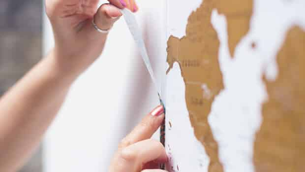 Scratch-Map-Travel-Framed-with-Washi-Tape-03