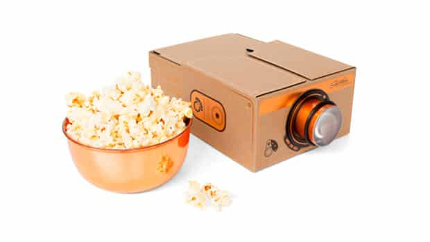 Smartphone Projector 2.0 Copper by Luckies