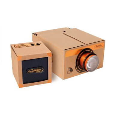 Smartphone-Projector-&-Speaker-2.0-Copper-Gift-Set-1080X1080-01