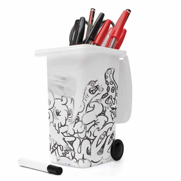 DIY doodle desk tidy secret santa present idea