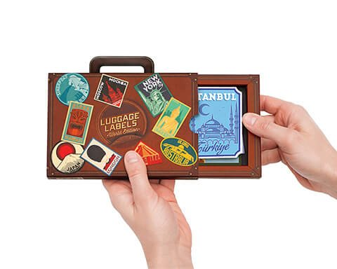 Luggage Label Stickers